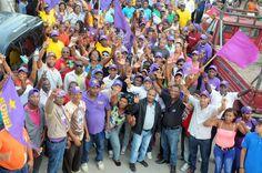 Sirilo De Los Santos dice encuesta lo colocan como seguro candidato alcalde del PLD en La Victoria