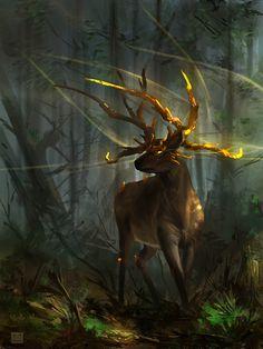 ♥ Deer guardian by *Sickbrush