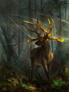 digitallydelicious:  Elara : Deer guardian by Sickbrush