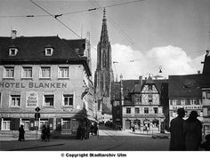 Ulm, Baden-Wurttemberg, Germany. Before World War II