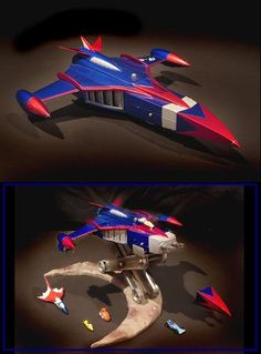 Diecast Phoenix - Battle of the planets / G-force