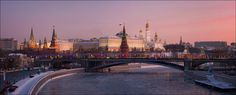 Christmas morning | Moscow, river, morning, the Kremlin