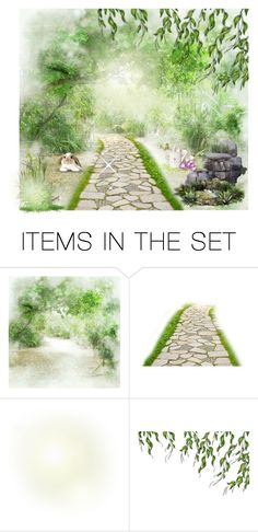 """""""The secret garden"""" by amazingperson101 ❤ liked on Polyvore featuring art"""