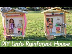 DIY American Girl Lea's Rainforest House