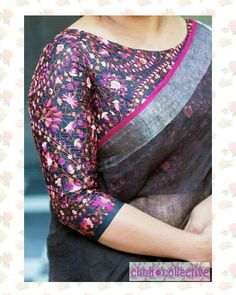 Looking for designer blouse patterns for sarees? Here are 15 most flattering models that will go well with any saree. Do try them and look chic. Blouse Back Neck Designs, Fancy Blouse Designs, Dress Designs, Saree Blouse Patterns, Designer Blouse Patterns, Kalamkari Blouse Designs, Skirt Patterns, Coat Patterns, Sewing Patterns