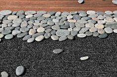Natural-Looking DIY Rock Doormat   Shelterness
