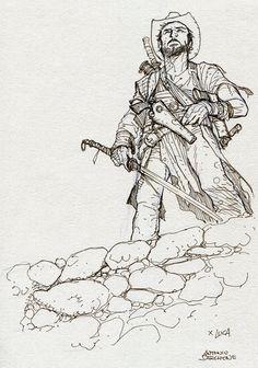 blades, dust and guns