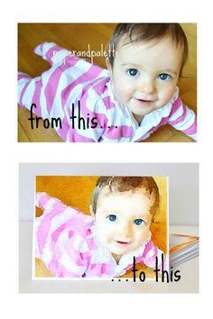 Custom Wedding Gift / New Baby Gift-Custom by paperandpalette
