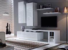 Contemporary Aina Wall Storage System in Various Colour Choices