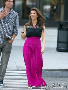 Kourtney Kardashian - Shopping with Jonathan at Bal Harbour in Miami