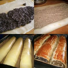 Arome si culori : Baigli cu mac Hot Dog Buns, Hot Dogs, Romanian Food, Romanian Recipes, Cake Recipes, Bread, Mac, Cooking, Ethnic Recipes