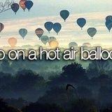 Bucketlist » Ride in a Hot Air Balloon (Sarah Radley)