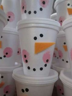 Perfect party favors...fill w/ goodies & top with lids   cute & inexpensive