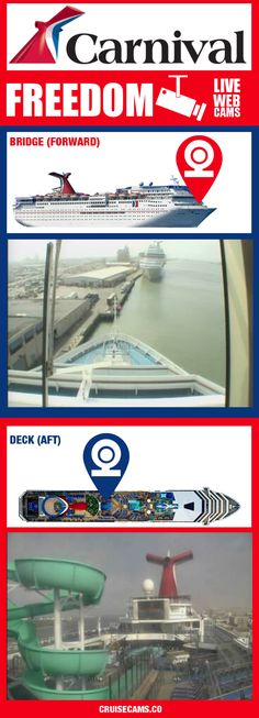 carnival fascination cruise cam - live ship webcam. click to see