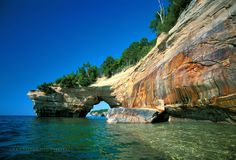 Pictured Rocks Lover's Leap