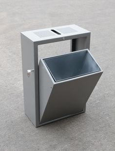 Versa Street Furniture | Mild Steel Litter Bins
