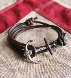 Maritime Anchor Bracelet