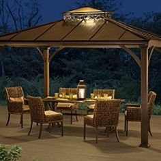 1000 Ideas About Hardtop Gazebo On Pinterest Gazebo