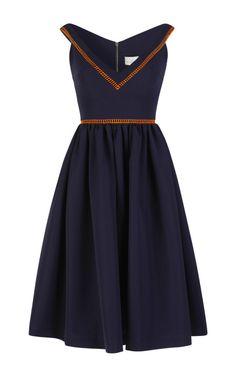 Ted Satin Frenzy Flo Dress by Preen for Preorder on Moda Operandi