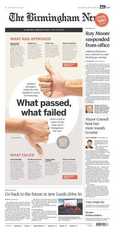 The Birmingham News 5/8/16 via Newseum
