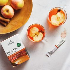 With a taste reminiscent of freshly picked apples on a crisp fall day, the Spiced Cider Punch EnergyFizz is the perfect blend of your favorite warm holiday beverage with the energizing zing of fizz. It's the perfect drink for bringing everyone together to celebrate warmth and love during this special time of year. Limited Time Only, While Supplies Last. Arbonne Nutrition, Vegan Nutrition, Spiced Cider, Pantothenic Acid, Gum Arabic, Holiday Drinks, Healthy Life, Spices, Potassium Bicarbonate