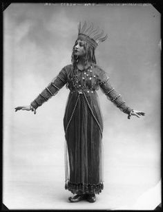 Christine Silver[Mrs Roland Sturgis] as Titania in 'A Midsummer Night's Dream', 1913*byBassano