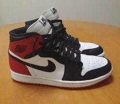 cf56b51cbb Nike Air Jordan 1 High OG Black Toe 2013 Size 10 555088-184 Banned Bred