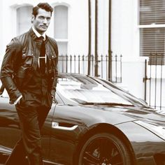 Imagine this guy picking you up for a date 😍😍 #davidgandy
