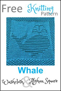 Knitted Squares Pattern, Knitted Dishcloth Patterns Free, Knitting Squares, Knitted Washcloths, Knit Dishcloth, Easy Knitting, Baby Knitting Patterns, Crochet Patterns, Manta Animal