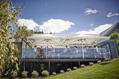Guests enjoying a tapas lunch on The Deck #frogmorecreek