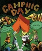 good book for kids to read in anticipation of camping and especially great for beginning readers