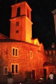 Eglise Ste Maxime by Night!