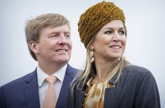 Queen Maxima and King Willem-Alexander visits the festival Long Live Club