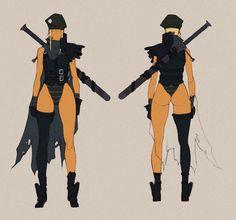 Militia Aalis - Concept by MizaelTengu.deviantart.com on @DeviantArt