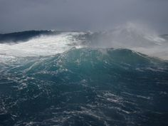 Monstrous seas in the South Atlantic