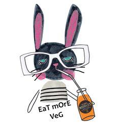 It is Organic September. Don't forget to eat more veg! Have a super Friyay! xxx #eatwell #organicseptember #healthy #veg #eatmoreveg #designer #artist #kidsdesigner #decor #kidsdecor #baby #kids #surfacedesign #design #bunny #rabbit #collage #mixedmedia