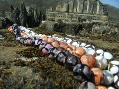 Facteted Football Agate Strand, £5.00