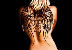 Not your average wing tattoos! These ones are pretty awesome! | INKEDD