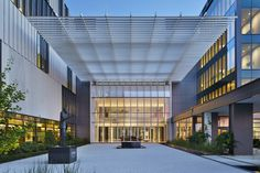 7 Projects Announced as Winners of AIA National Healthcare Design Awards,University Medical Center New Orleans; New Orleans / NBBJ. Backyard Canopy, Garden Canopy, Canopy Outdoor, Beach Canopy, Canopy Architecture, Architecture Design, Nova Orleans, Door Canopy, Tree Canopy