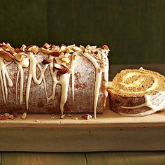 When we think of gingerbread, we think of little men. But this Gingerbread Cake Roll will have you singing a different tune: http://www.bhg.com/recipes/desserts/cakes/fall-cake-recipes/?socsrc=bhgpin091214gingerbreadcakeroll&page=6