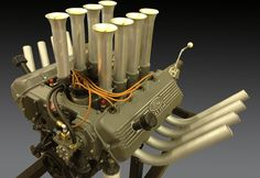 Ford Racing Engines, Race Engines, Motor Engine, Car Engine, Buick Nailhead, Performance Engines, Mustang Fastback, Fancy Cars, Hot Rods
