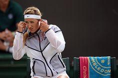 Victoria Azarenka ahead of her Second round match