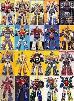Megazords of Power Rangers 20 by ChipmunkRaccoonOz on DeviantArt