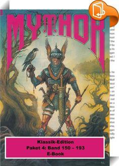 Mythor-Paket 4    :  MYTHOR-Paket 4 MYTHOR-Heftromane 150 bis 193  Wie von Dämonen gehetzt, werfen sich die gewaltigen gepanzerten Yarls über den Rand der Klippen in das tobende Meer der Spinnen. Mit ihnen zerbricht die Nomadenstadt Churkuuhl, vor Jahrhunderten auf den Rücken der Yarls erbaut.   Der junge Krieger Mythor verliert die einzige Heimat, die er je kannte. Mit den wenigen Überlebenden der Katastrophe nimmt er den Kampf gegen die Soldaten des Landes Tainnia auf - und findet sc...