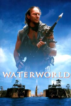 Kevin Costner in Waterworld 1995 Movies, Hd Movies, Movies To Watch, Movies Online, Movie Tv, Nice Movies, Movies Free, Kevin Costner, Films Hd