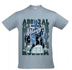 Футболка с принтом The Vladivostok Admiral is my club