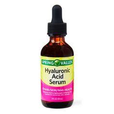 Spring Valley Hyaluronic Acid Serum, 2 Oz Image 6 of 8 Hair Loss Medication, Hyaluronic Serum, Retinol Cream, Skin Care Spa, Spring Valley, Healthy Skin, Healthy Dinner Recipes, Remedies