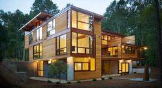 Modern Wood Home Plans – Sp8ce.Design