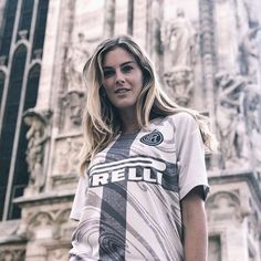 OUR SHIRT LANDMARKS SAN SIRO! @astridericsson takes us on a tour of Milan ahead of... pic by @inter