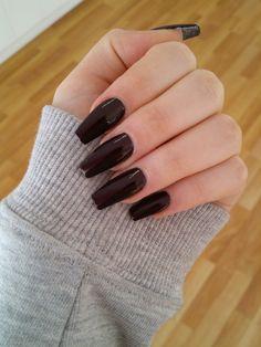 long squarletto acrylic nails